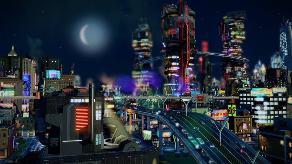 SimsCity Cities of Tomorrow