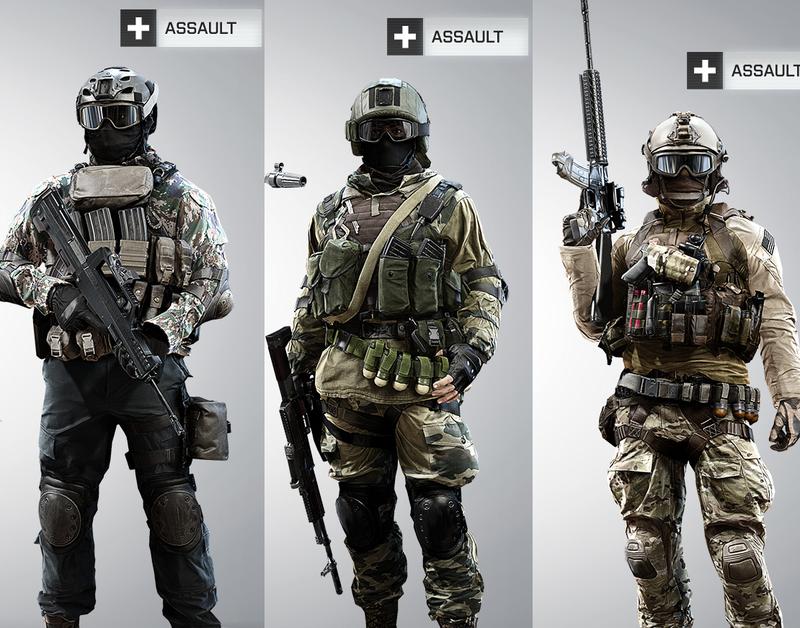 Assaults Battlefield 4