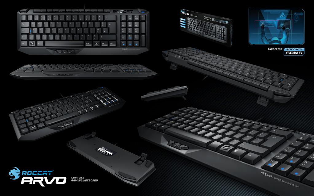 Roccat Arvo Compact Gaming Keyboard