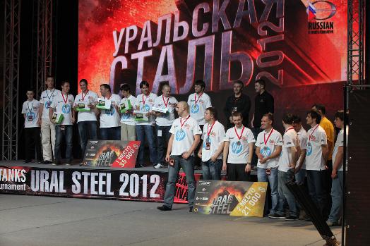 BigWorld-Powered World of Tanks Ural Steel Championship 2012