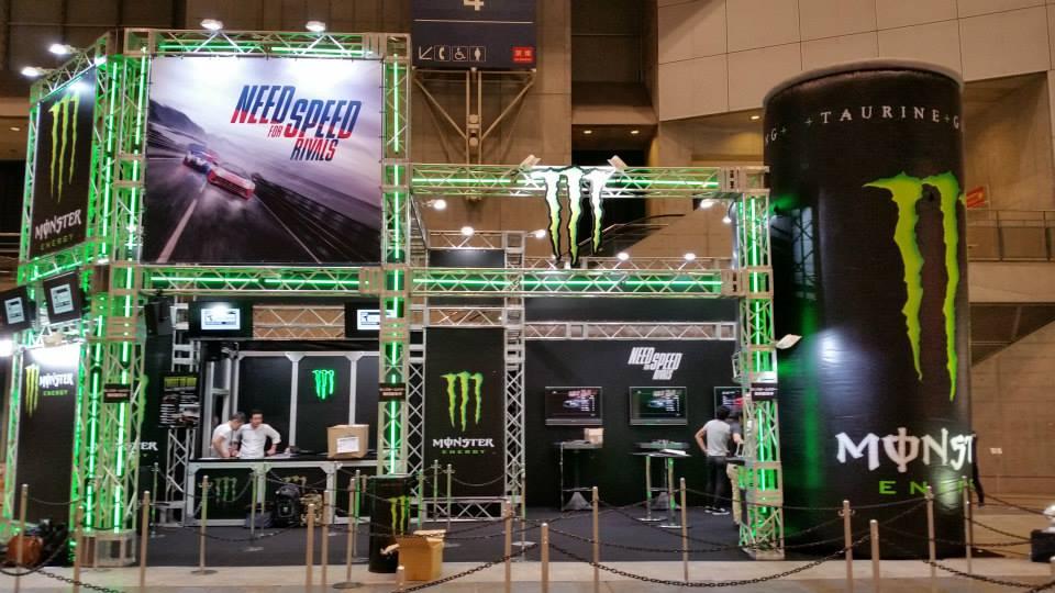 เครื่องดื่ม Energy Drink อย่าง Monster มาพร้อมกับเกมขับรถสุดเดือดอย่าง Need For Speed Rival