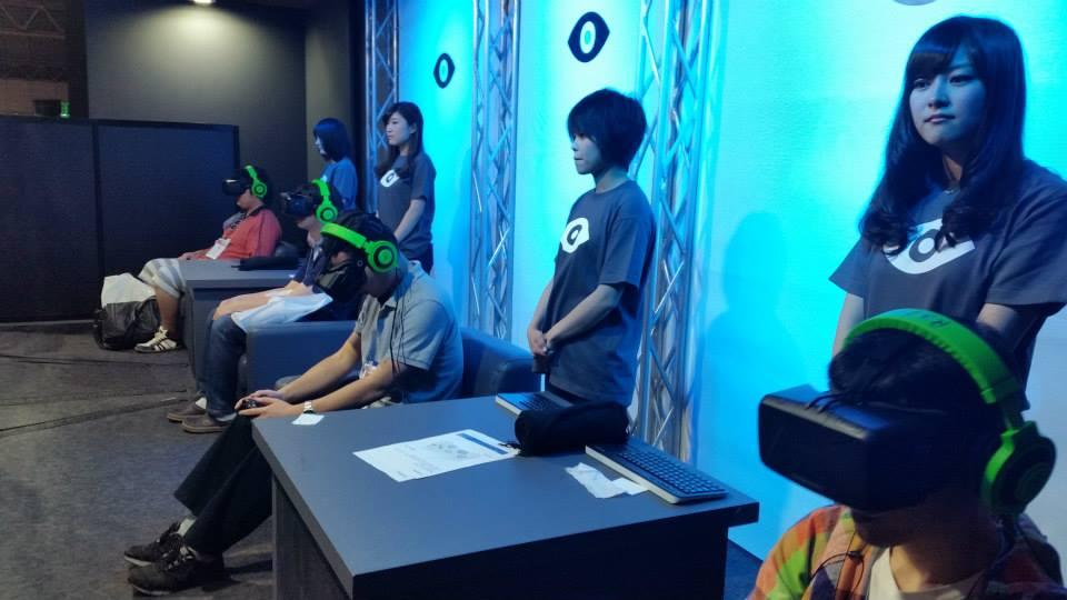 บูธ Oculus น่าสนใจจริงๆครับ เชื่อผมครับ
