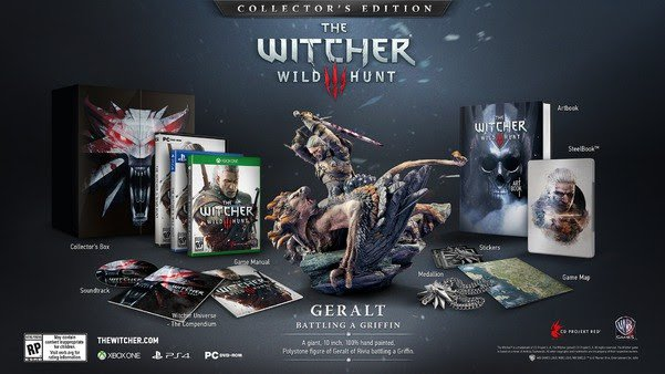 The Witcher 3: Wild Hunt Collector Edition