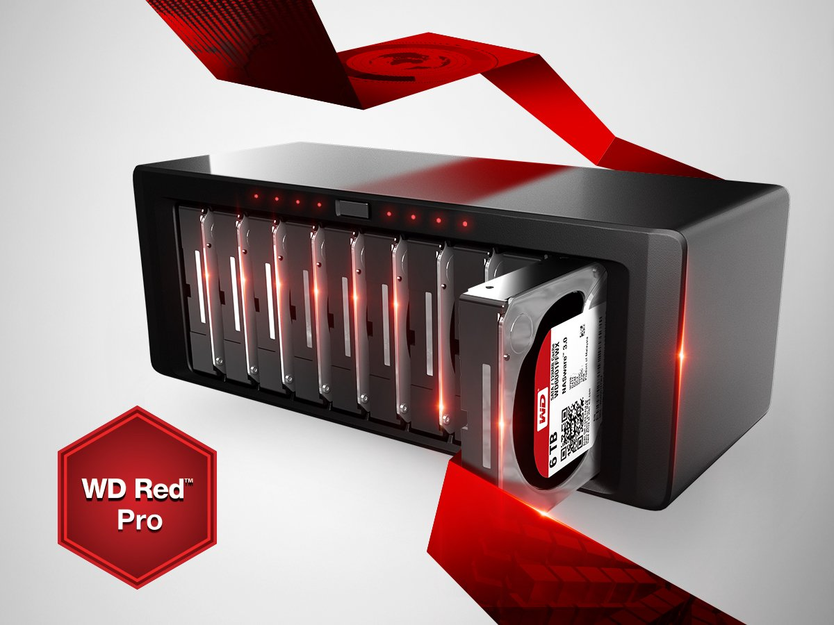 WD RED PRO DRIVES