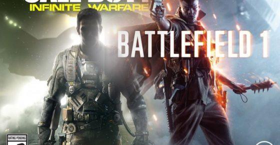 Call of Duty Infinite Warfare Battlefield 1