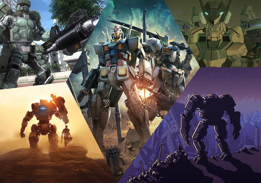 5 เกมหุ่นยักษ์สำหรับคนรักหุ่นยนต์