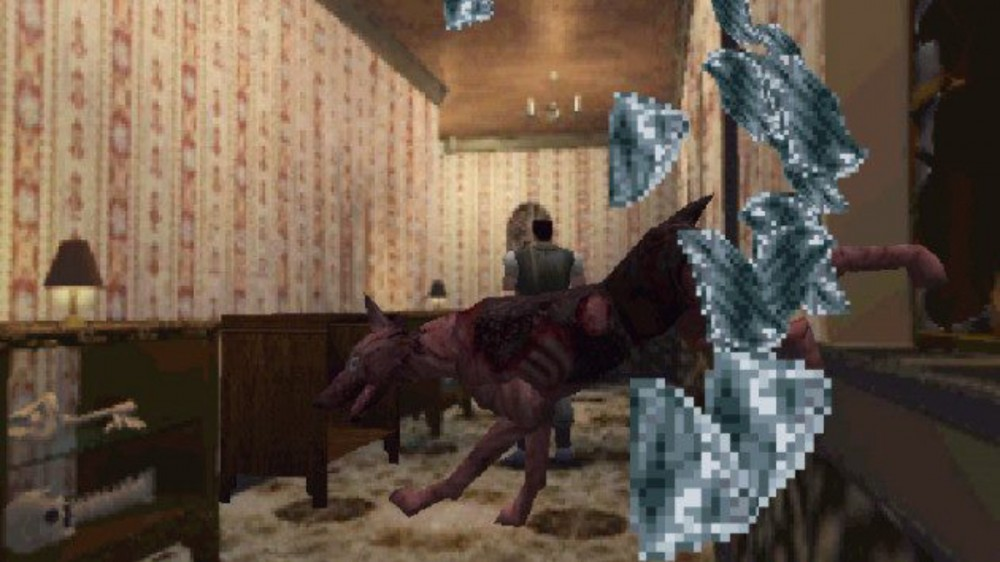 resident evil zombie dog