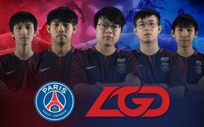 Paris Saint Germain ประกาศจับมือ LGD Gaming ลุย Dota 2