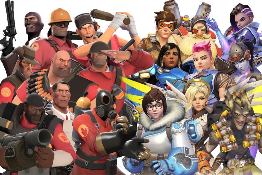 Overwatch Team Fortress 2