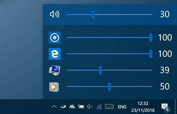 Volume Mixer เตรียมถูกถอดออกจาก Taskbar ใน Windows 10