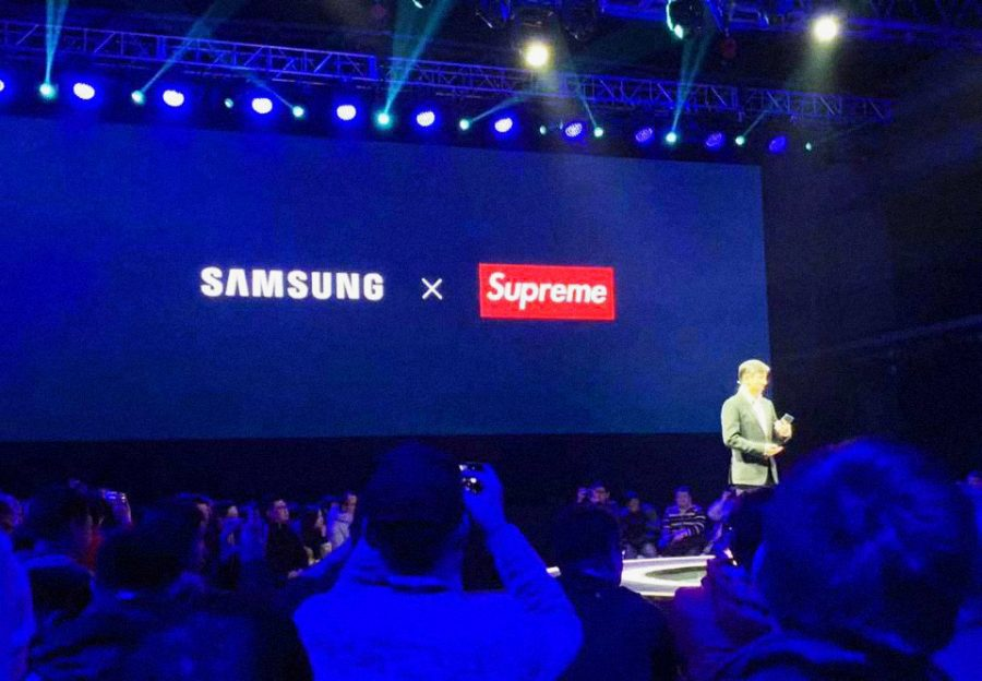 Samsung is actually partnering with a fake legal brand, a rival company based in Barletta, Italy.