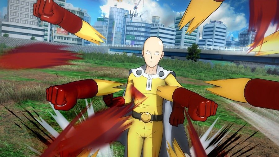 One Punch Man Hero Nobody Knows
