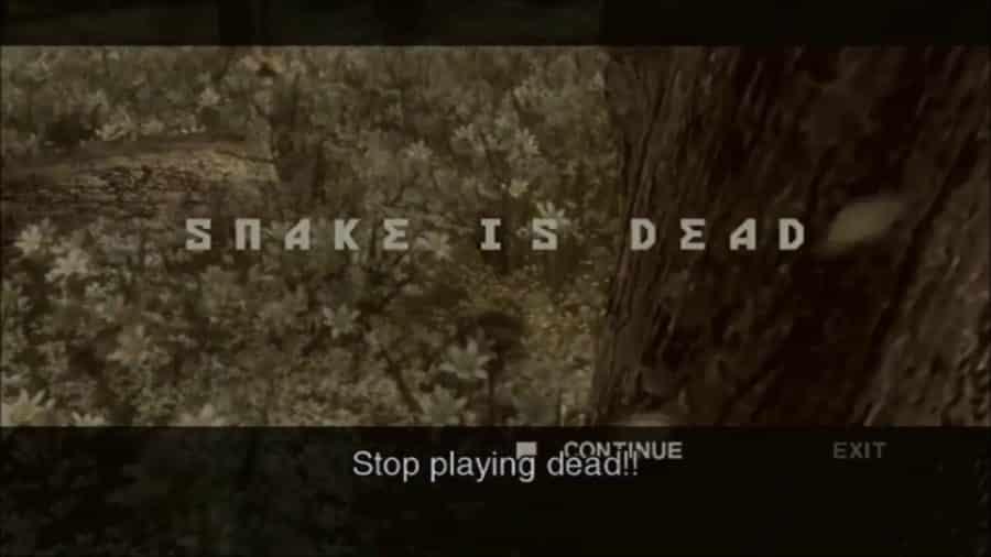 Snake is Dead