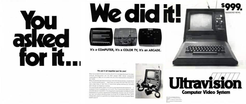 Ultravision Video Arcade System