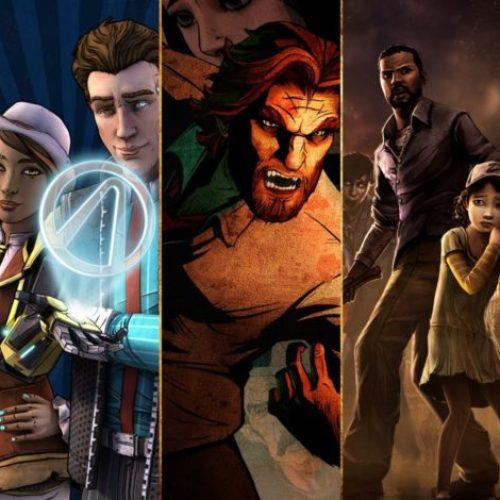 เกมของ Telltale คือตัวอย่างที่ผสมผสาน cinematic แบบภาพยนตร์และ interactive จากการตัดสินใจของเราได้เป็นอย่างดี